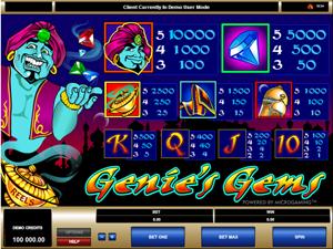 Genies And Gems Kostenlos Spielen